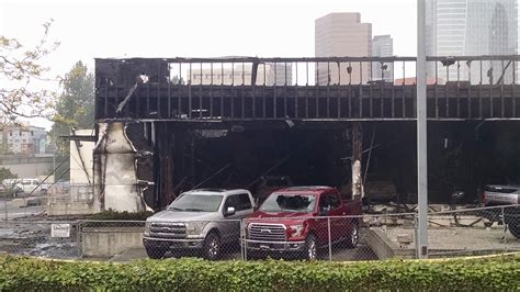 local ford dealer my local ford dealer burned to the ground more pics in