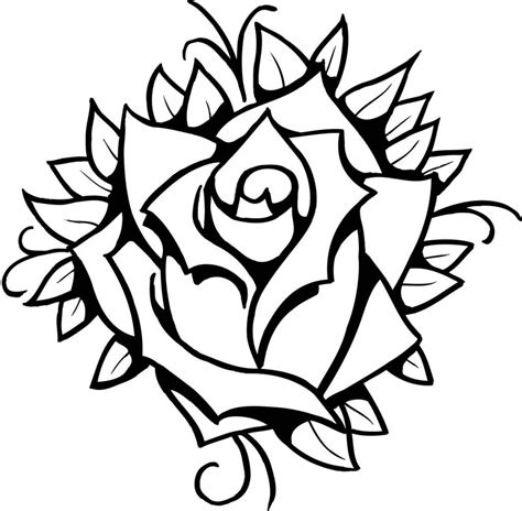easy tattoo drawing ideas rose drawing tattoo design ideas rose drawing tattoo