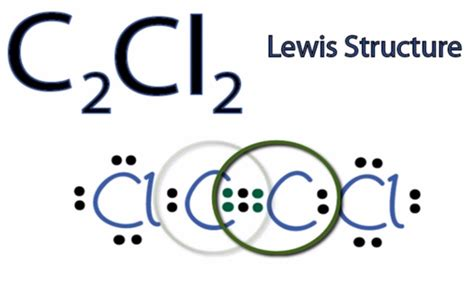 what is a lewis dot diagram c2cl2 lewis structure how to draw the lewis structure for