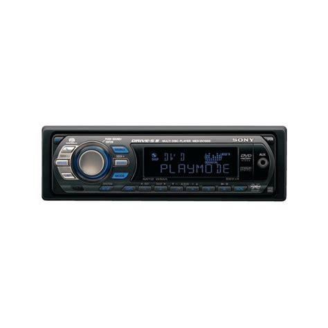 Auto Radio Sony Mex Dv1000 500kn Sony Mex Dv1000 Audio Cd Mp3 Wma Dvd Player Mex Dv1000 From Sony