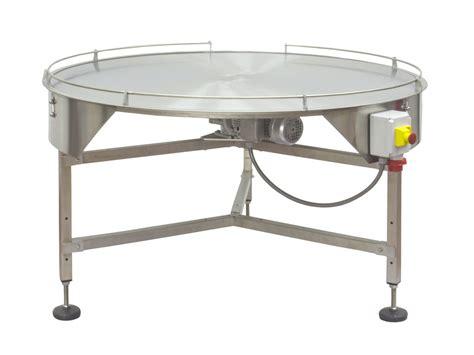 tavoli rotanti tavolo rotante in acciaio inox per accumulo prodotti in