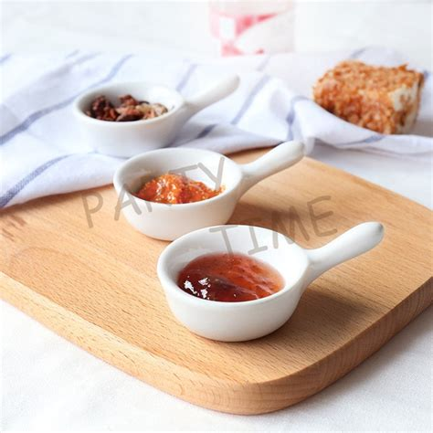 Plate With Sauce Dish mini ceramic pickle dish appetizer dish tableware