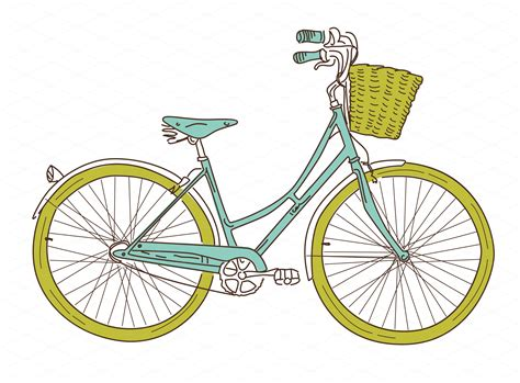 On Bike Clipart