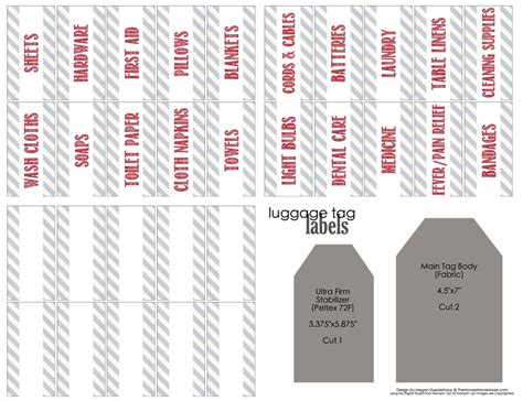 printable closet organizer tags linen closet labels with free printable labels the