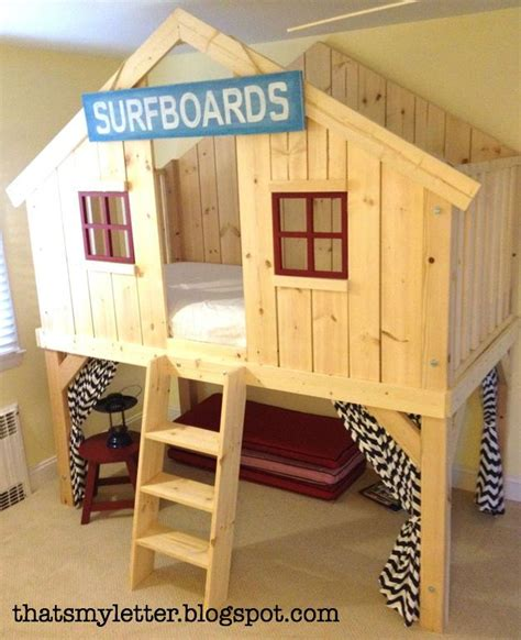 Papercraft Clubhouse - diy clubhouse bed with plans 200 for lumber 300