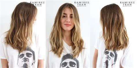 soft under cut hair natural highlights soft undercut ramirez tran salon