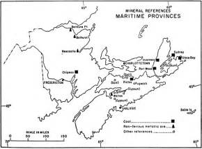 mineral references in the maritime provinces 1967