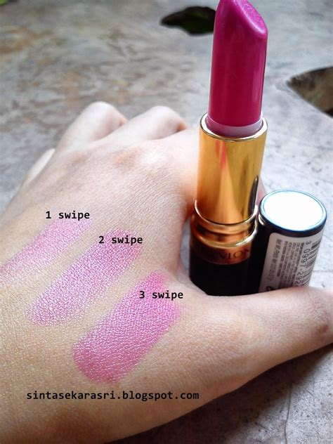Lipstik Revlon Dan Warnanya sintas revlon lustrous lipstick