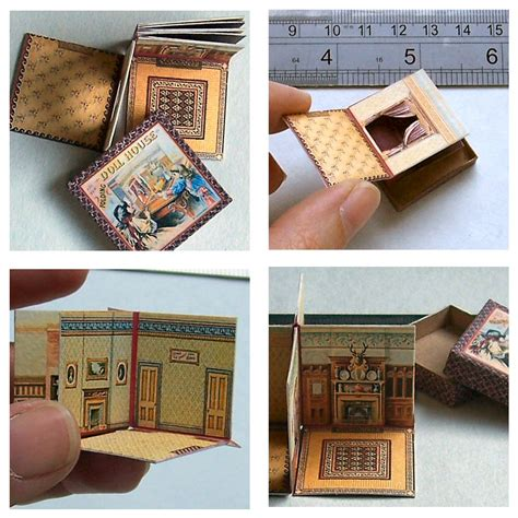 mini doll houses mini packaging nice miniature printables pinterest