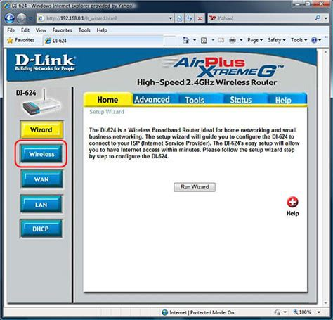 reset verizon d link router reconfiguring your d link di 624 network after resetting