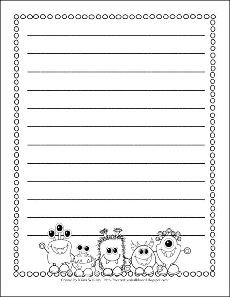school themed writing paper free school themed border paper back to school bulletin