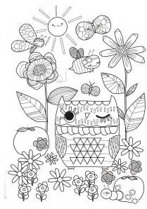 coloring pages for printable mollie makes colouring book free colouring sheet