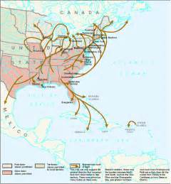underground railroad map underground railroad map routes mapped routes escaped slaves