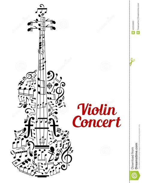 Poster Design Notes | creative violin concert poster design stock vector image