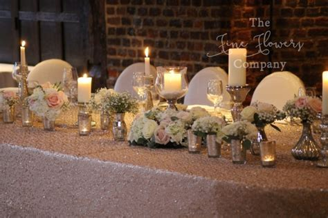 Great Fosters wedding open day   beautiful wedding flowers