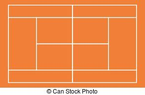 tennis court clipart vector and illustration 3 342 tennis