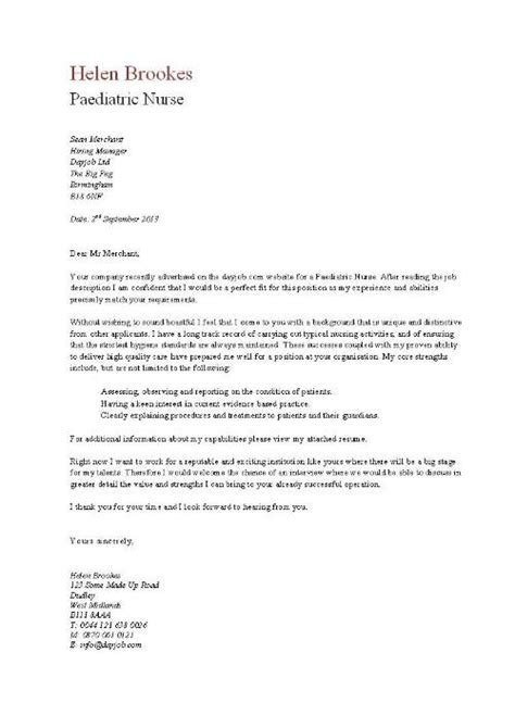 Sle Resignation Letter For Nurses by Nursing Cover Letter Sles Resume Genius Httpwwwjobresumewebsite Resignation Letter