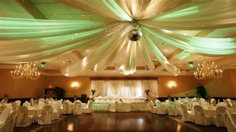 Reception room seating, wedding reception hall decorating