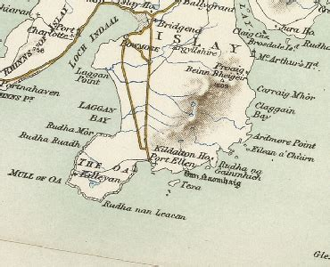 history  kildalton  argyll  bute map  description