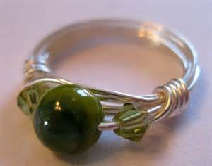 How To Make Handmade Rings With Wire - crafty jewelry wire wrapped ring how to make a wire
