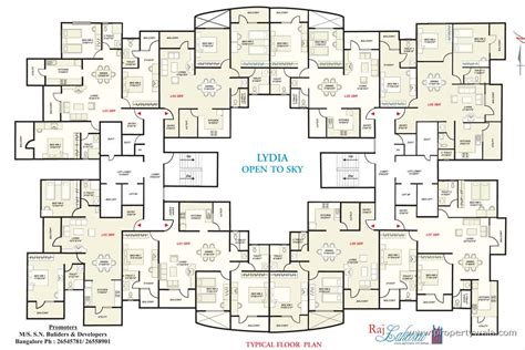 Apartment Complex Floor Plans raj lakeview phase i btm layout bangalore apartment