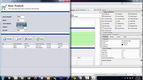 tutorial netbeans mysql tutorial pembuatan aplikasi kredit motor java netbeans