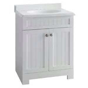 White Vanity At Lowes Beadboard Style Estate By Rsi White Boardwalk Bath Vanity
