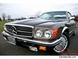 Mercedes Coupe 1980 1980 Mercedes 500slc Slc 500 Coupe V8 Collectible