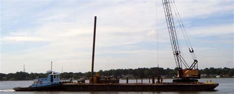 boat salvage chesapeake va marine contractor marine construction marine