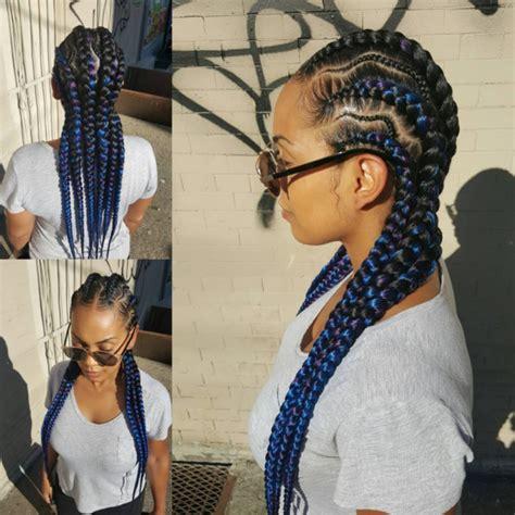 how to do five big braids styles nice braids via tasha worldofstyles black hair information