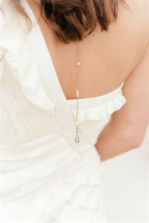 Wedding Baby Got Back by Baby Got Back Beautiful Back Necklaces Bridal Accessories
