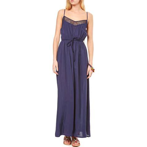 Robe Longue Fluide Molly Bracken - molly bracken robe longue bleu brandalley