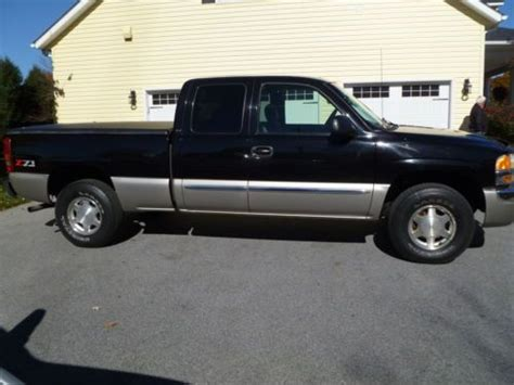 2003 gmc sierra 1500 specs pictures trims colors cars com buy used 2003 gmc sierra 1500 slt extended cab pickup 4 door 4 8l in finksburg maryland united