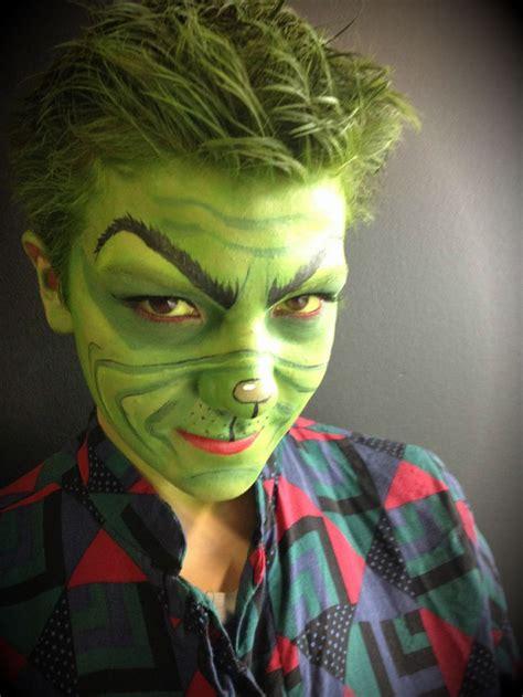 the grinch makeup model brandon barns my make up