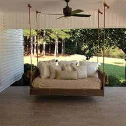 Daybed Porch Swing Ridgidbuilt Mission Hanging Best Daybed Swing Bed