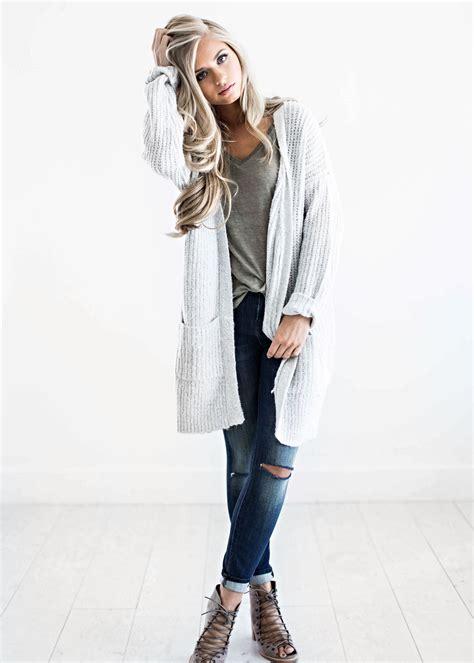 Winter Fashion by Sweaters Light Grey Sweater Fall Fashion Womens Get