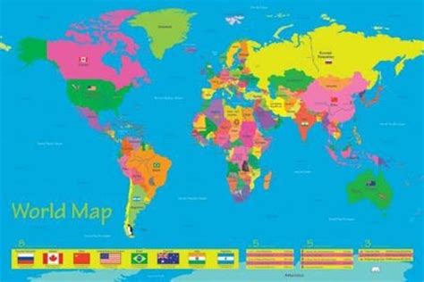printable children s world maps free jolie blogs world map for children to print