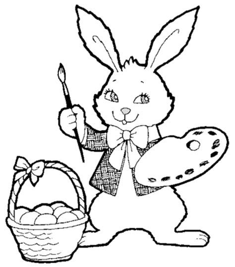 coloring pages easter bunny easter bunny coloring page wallpaperholic