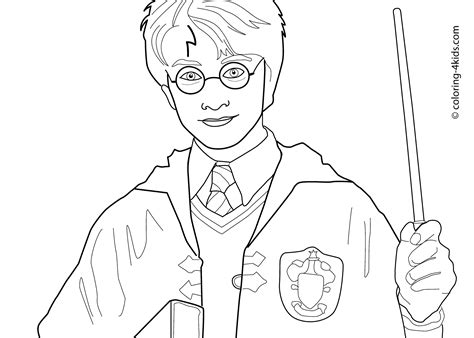 printable coloring pages harry potter pin pin coloriage harry potter 9056jpg on pinterest on