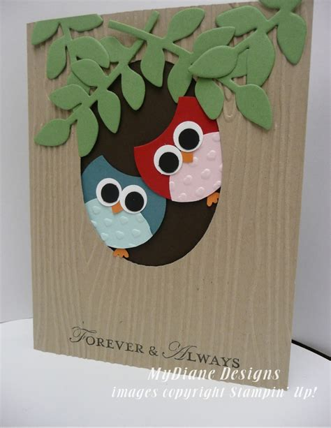 Handmade Card Ideas Stin Up - 25 best ideas about owl card on owl punch