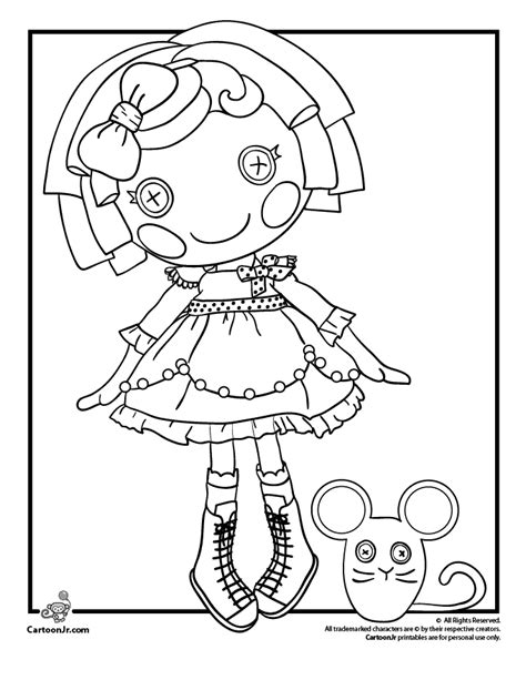 free printable coloring pages lalaloopsy lalaloopsy coloring pages fonts and printables