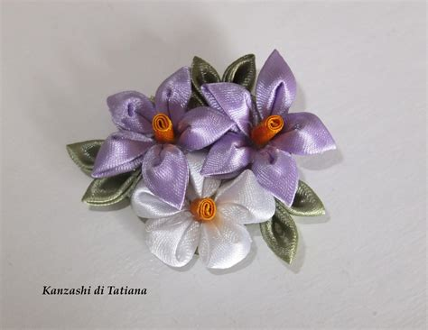 fiori per capelli fiori kanzashi per capelli donna accessori di