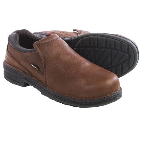 comfortable steel toe shoes for men wolverine marcum durashocks 174 work shoes for men save 48