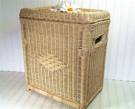 Wicker Laundry Her With Lid Set Sierra Laundry Tidy Wicker Laundry With Lid