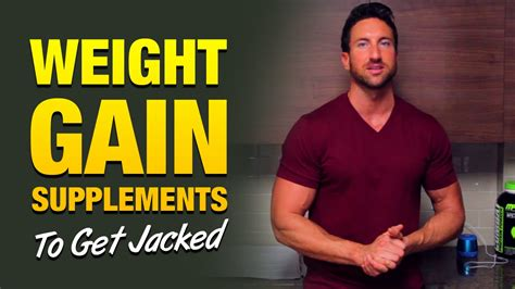 Richie Need Help On Weight Gain by Weight Gain Supplements 3 Supplements To Help You Get