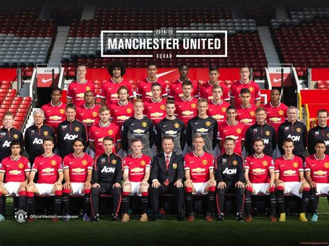 2016 manchester united squad wallpapers logo manchester united 2016 wallpaper cave