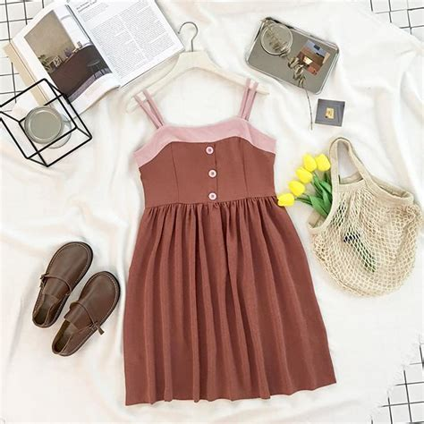 dresses 2in1 itgirl shop aesthetic clothes