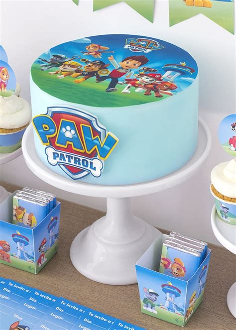 ideas  decorar una fiesta de cumple de paw patrol