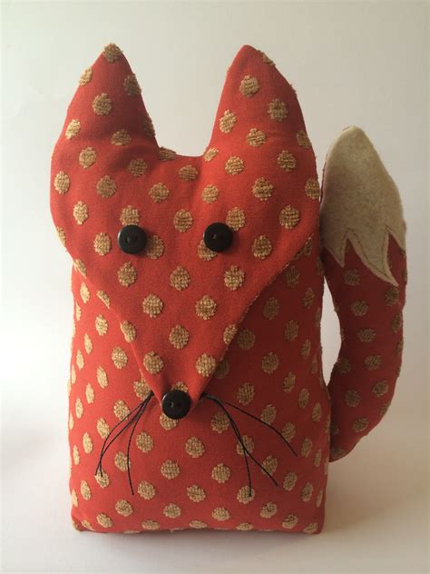 Handmade Door Stop - handmade fox door stop taken from page a bundle