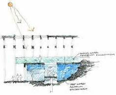 aquarium design application sectional diagram of integrated tank and viewing area